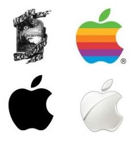 Apple logo - historia