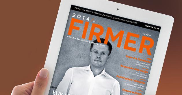 Firmer 3/2014 - Łukasz Wejchert