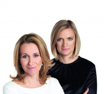 Dorota Czekaj i Kasia Wierzbowska - założycielki Fundacji Przedsiębiorczości Kobiet