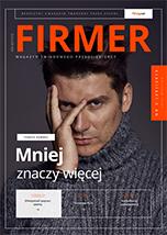 FIRMER 3/2019_Okładka z Tomaszem Kammelem