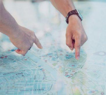 Szukanie na mapie