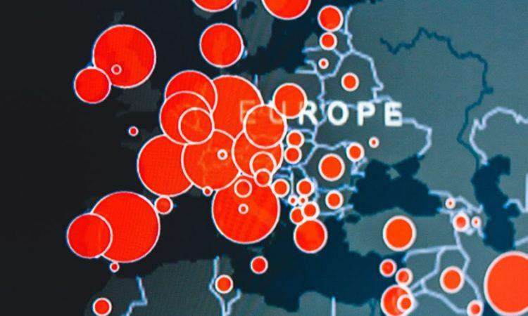 Mapa zachorowań na COVID-19